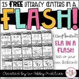 Free Literacy Centers Posters