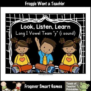 Vowel Team Posters--Look, Listen, Learn Long I Vowel Team