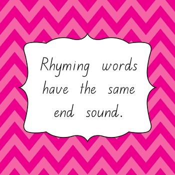 Free Literacy Rhyming Words Powerpoint - Phonological & Phonemic Fun