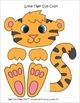 """Tiger Crafts and Letter """"T"""" Tracing and Work Pages"""