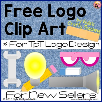 Free Logo Clip Art for TpT Sellers