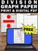 FREE Long Division Graph Paper, Long Division Strategies, 4th 5th Grade Math