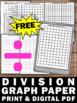 FREE Long Division Graph Paper, Long Division Strategies,