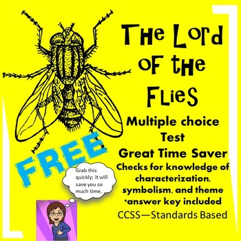 Free Lord of the Flies Multiple Choice Assessment