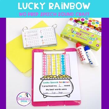 Free Lucky Rainbow Craft