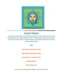 Free Lyric Sheet - Assalam Aleykum (A Song Introducing The Muslim Greeting)