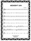 Recorder & iPads FREE MIDNIGHT SUN (Accompaniment Included)