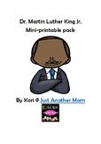 Free MLK Jr. Printable Pack