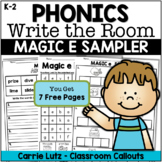 Write the Room Phonics - Magic e - Free