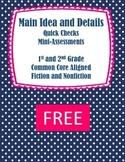 Free: Main Idea and Key Details