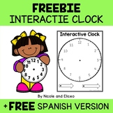 FREE Telling Time Clock Template