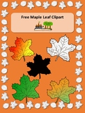 Free Maple Leaf Clipart