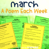 Free March A Poem Each Week