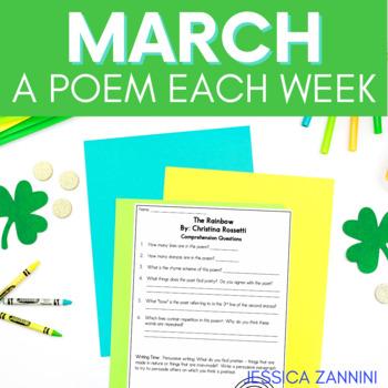 Free March A Poem Each Week