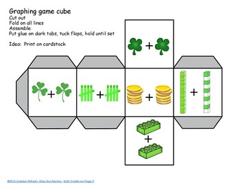 Free St. Patrick's Day Bookmarks, Doubles Graphing Activity, Reading Charts