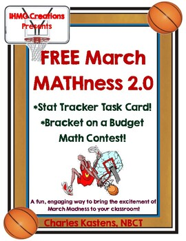 FREE March MATHness 2.0: March Madness Read Around the Roo