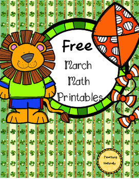 Free March Printables/Worksheets