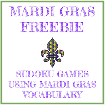 Free Mardi Gras Sudoku Games