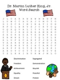 Free: Martin Luther King, Jr Wordsearch