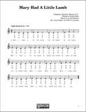 Free Mary Had A Little Lamb harmonica sheet music and mp3's.