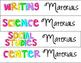 Free Material Labels