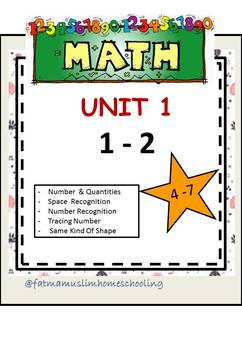 Free Math 1st Learning Preschool And Kindergarten