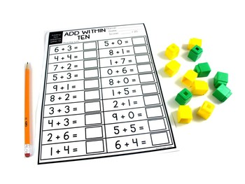 Free Printable Math Practice Pages