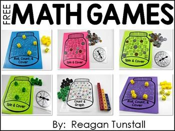 Free Math Center Games
