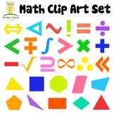 Free Math Clip Art Set