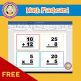 Free - Math Flashcard