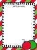 Free Math Poetry Publishing Papers {Christmas Theme}