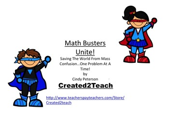 Free Guided Math Resource Card