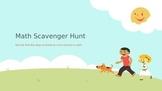 Free Math Scavenger Hunt