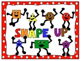 Free Math Shapes and Poster Clip Art Characters