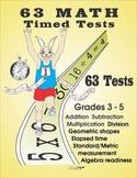 Free Math Timed Tests Sampler