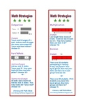 Free Math Word Problem Strategy Bookmarks