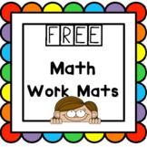 Free! Math Work Mat