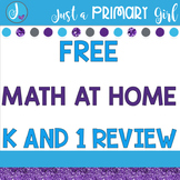 Free Math at Home for 1st and Kindergarten