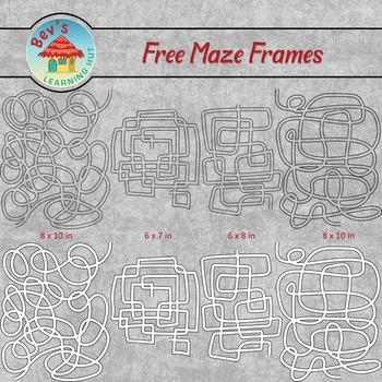 FREE Maze Frames