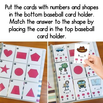 CVC, Medial Vowel Sounds FREE Self Checking Game - Slip It and Flip It