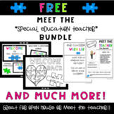 Meet the Teacher Templates for Special Education Free