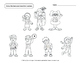 Free Meet the Teens Tracing and Colouring Pages - Canadian