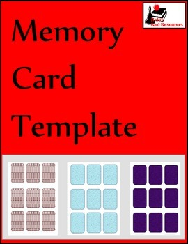 Free memory card template by raki 39 s rad resources tpt for Memory game template for powerpoint