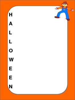 Free Middle School Halloween Story Starters and Acrostic Poem