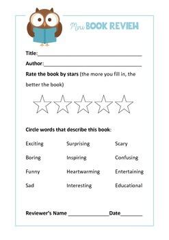Free Mini Book Review