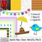 Free Mini Bundle! {April May June}