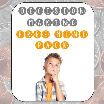 Free Mini-Pack for Decision Making Grade 4