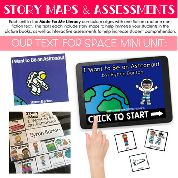 Free Mini Unit: Space (Made For Me Literacy)