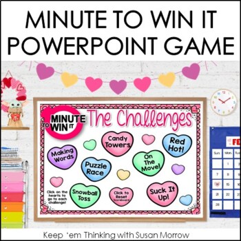 Free Minute to Win It Valentines Game Show