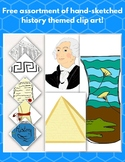 Free Miscellaneous History Themed Clip Art